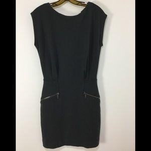 Michael Kors Sheath Dress Size 6 Sleeveless Gray